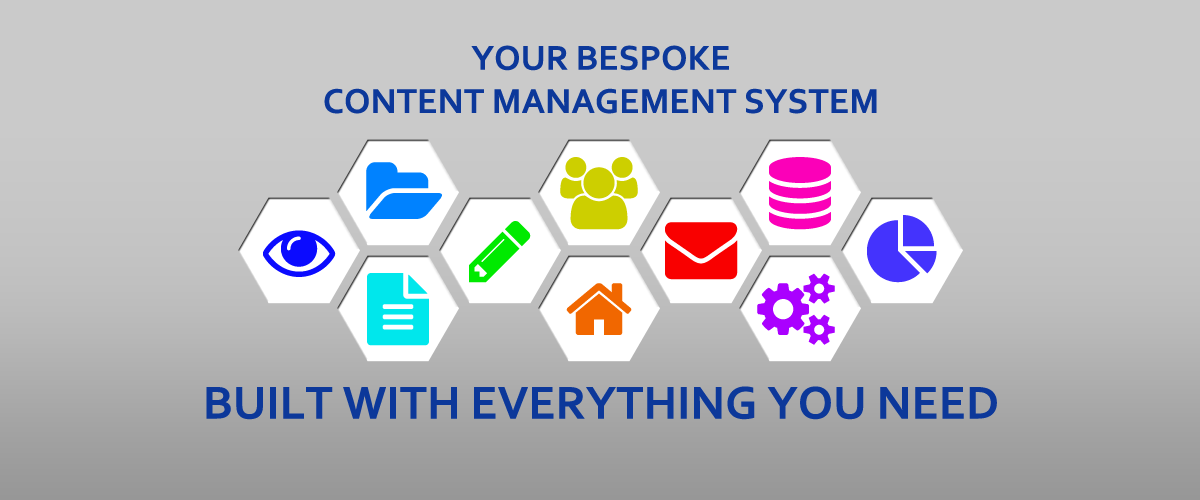 Your bespoke CMS (content management system), built with everything you need.